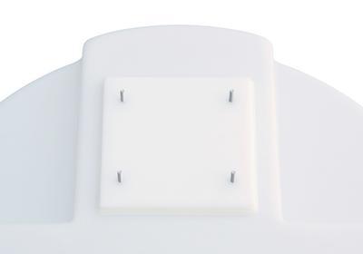 PE-Montageplatte für Dosierpumpe.