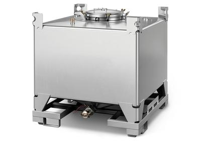 Durch die rahmenlose Konstruktion ist der IBC besonders platzsparend und leicht.