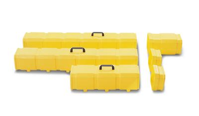 Lager- und Transportboxen für Leuchtstoffröhren, 600, 1200 und 1500 mm