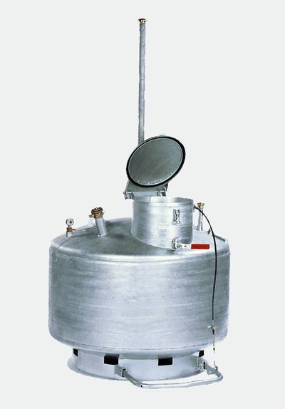 Gefahrstoff-Sammler, von 250 bis 950 Liter, Bedienung durch Sachkundige.