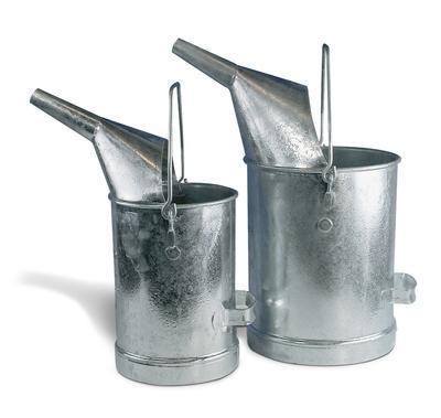 Messeimer aus verzinktem Stahl