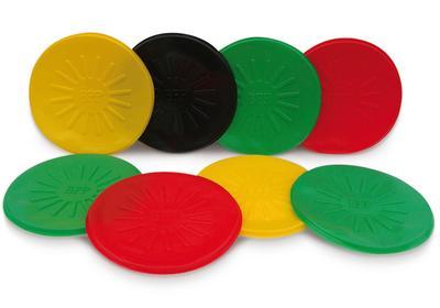 Fassdeckel aus Polyethylen (PE), Typ DF, in 4 Farben erhältlich.