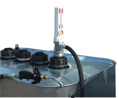 Pumpe auf einer Tankanlage