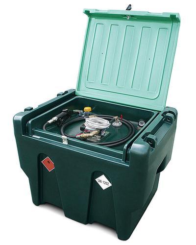 Mobile Dieseltankstelle Typ MDT 900 aus Polyethylen (PE)