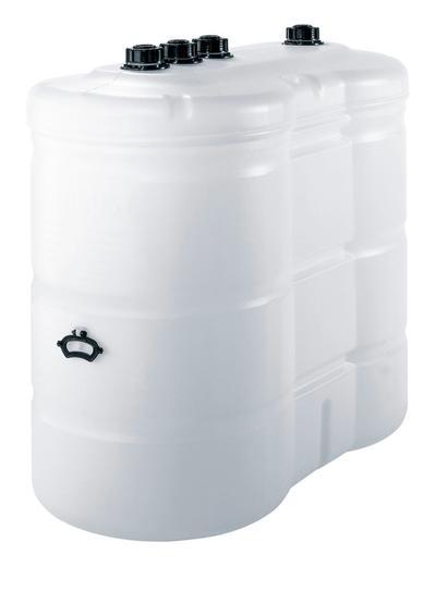 Tank mit 1500 Liter Volumen.