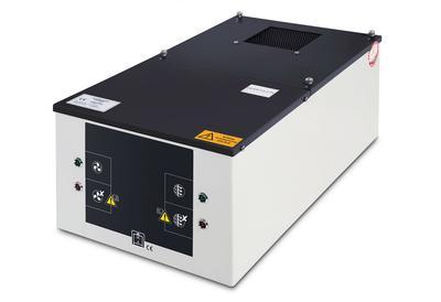 Umluftfilteraufsatz für Vbf-Fass-Schränke, mit mehrstufigem Filtersystem. Anschlusskabel und Netzstecker, siehe Zubehör-Tabelle.