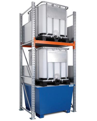 Combi-Regal Typ K, für bis zu 6 IBC à 1000 Liter