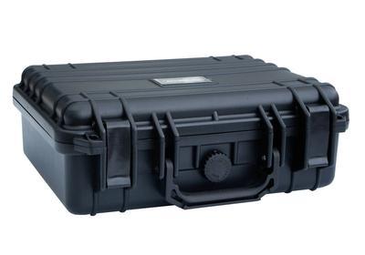 staub- und wasserdichter Schutzkoffer mit Schaumstoffeinlagen, ideal für Aufbewahrung und Transport empfindlicher Gegenstände