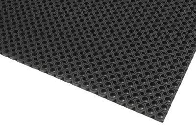 Schmutzfangmatte Typ OF mit kleinen Abflusslöchern (Ø 14 mm)