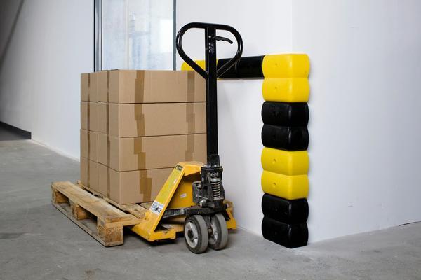 Die flexibel verwendbaren Wand- oder Eckschutzprofile ermöglichen Ihnen individuellen Anfahrschutz, passend für Ihre Anforderungen
