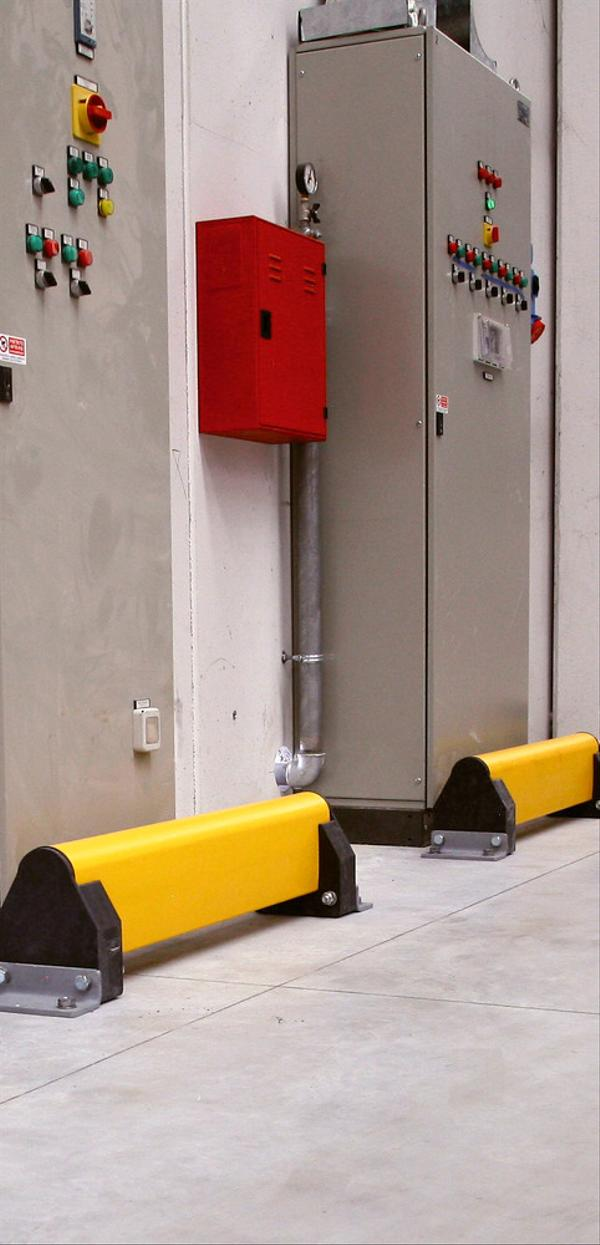 Auch in der 1-fachen Ausführung bietet der Plankenschutz umfassenden Schutz.