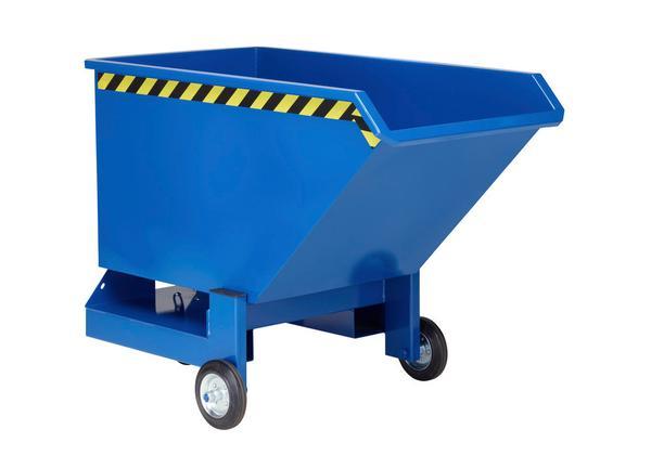 Kippwagen mit 250, 400 oder 600 Liter Volumen, Traglast 600 kg (alle Modelle)