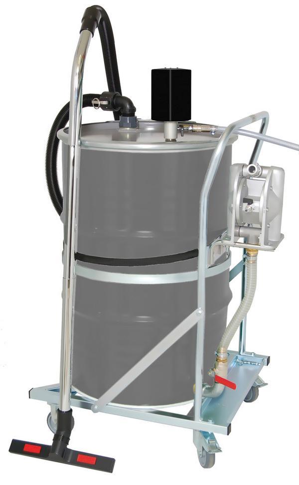 System Typ PumpOut: Aufsaugen und Abpumpen mit einem Gerät