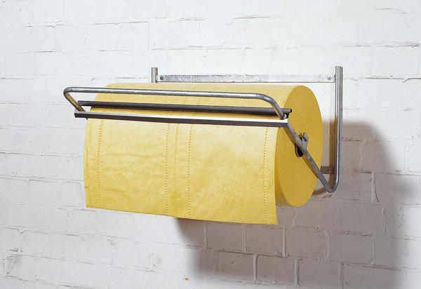 Abrollständer für Rollen bis 80 cm Breite als Wandgerät