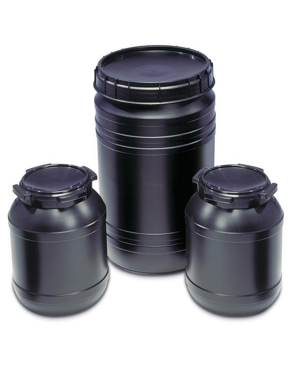 Leitfähige Fässer mit einem Volumen von 26 und 75 Liter