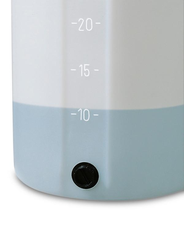 Lager- und Dosierbehälter mit Volumenskala