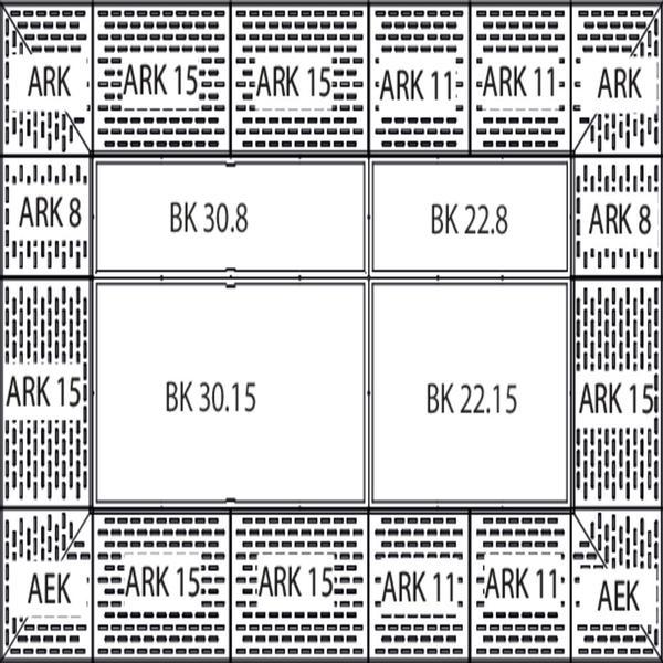 Zu jedem Bodenelement passende Rampen ermöglichen eine Rundum-Befahrbarkeit der kompletten Lagerfläche.