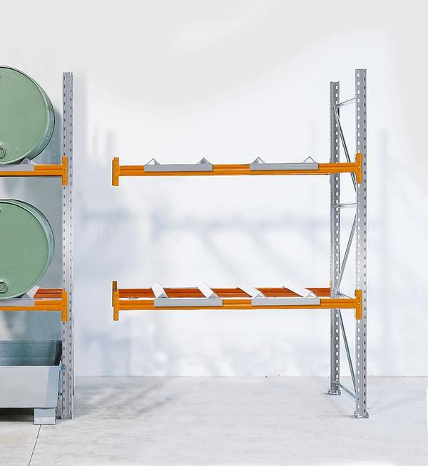 Durch die Kombination von Grund- und Anbaufeldern können Sie Ihre Lagerkapazitäten mühelos erweitern. Einfache Montage durch Schraub- und Steckverbindungen.